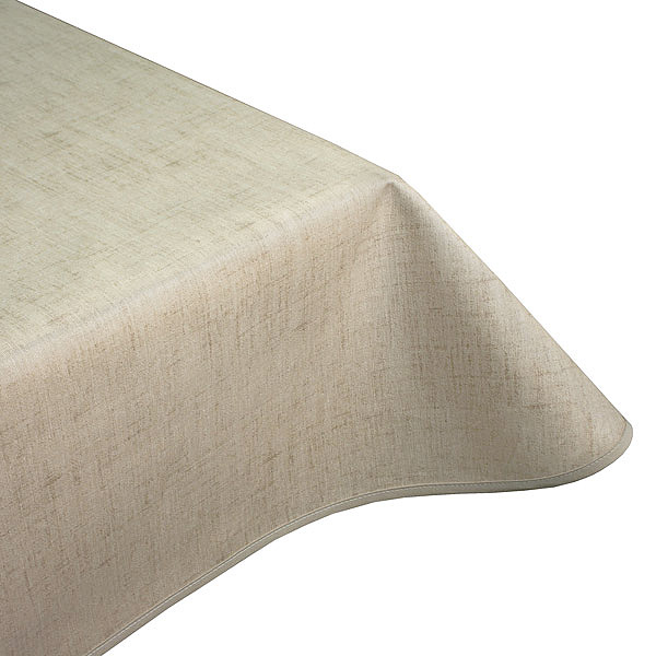Natural sand teflon tablecloth