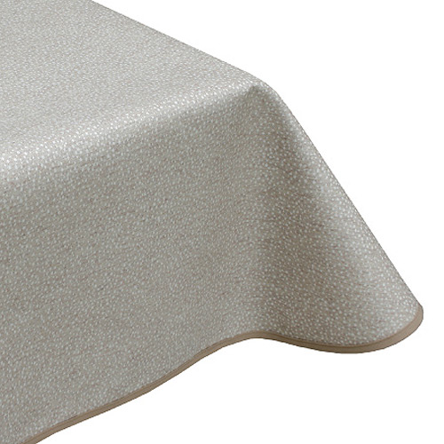 Speckle Beige acrylic tablecloth