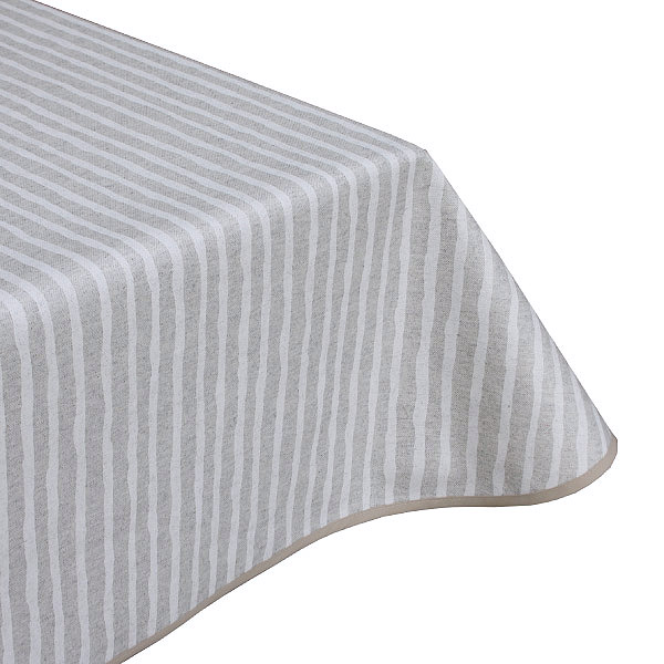 Lovely Lines Teflon Coated Tablecloth