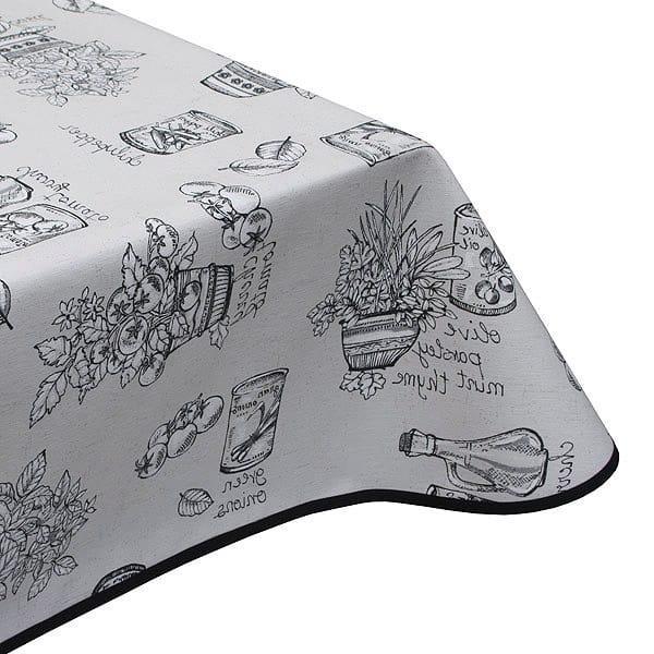 Culinary Acrylic Coated Tablecloth