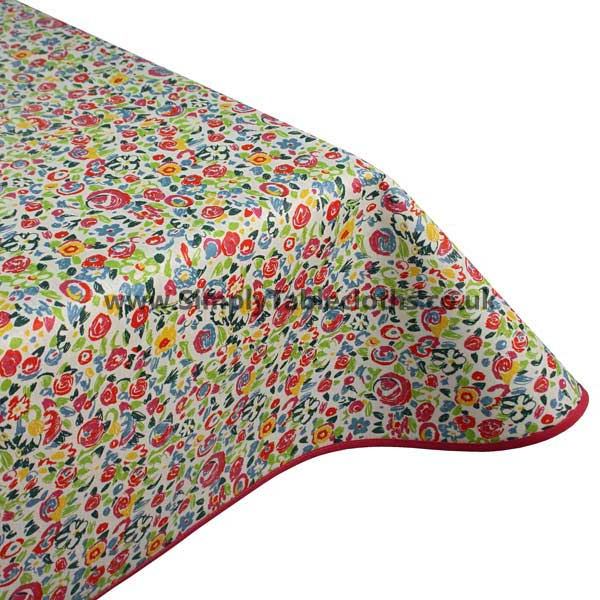 Busy Lifestyle Teflon Coated Tablecloth