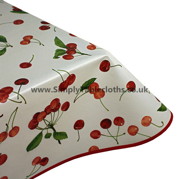Cherries Vinyl Tablecloth