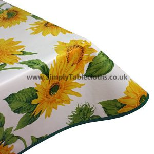Sunflower Vinyl Tablecloth