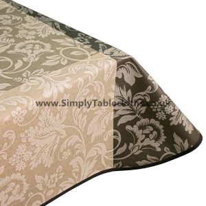 Natural Opera Teflon Coated Tablecloth