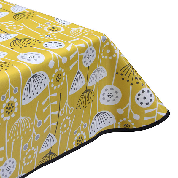 Joyful Oilcloth Tablecloth