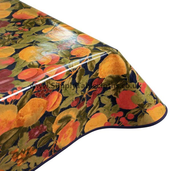 Mulberry Oilcloth Tablecloth