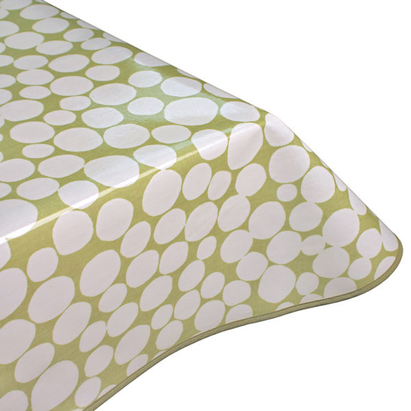 Fizzle Sage Oilcloth Tablecloth