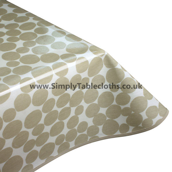 Fizz Stone Oilcloth Tablecloth