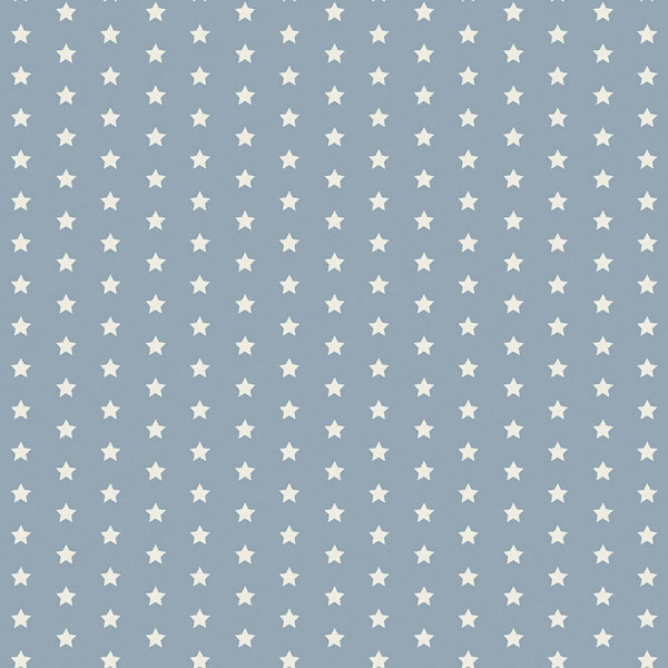 Twinkle powder blue oilcloth flat