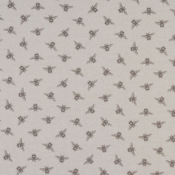 Natural Bees Oilcloth Tablecloth