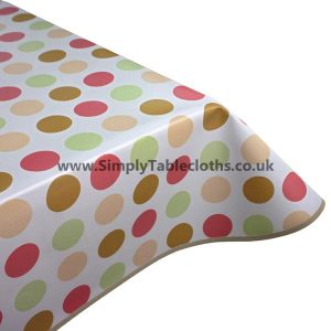 Candy Spots Vinyl Tablecloth