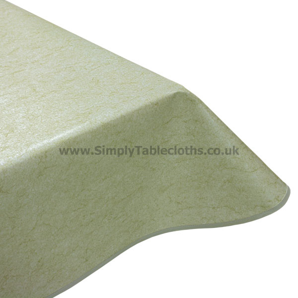 Marble Beige Vinyl Tablecloth