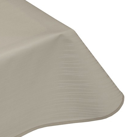 modern ivory vinyl tablecloth