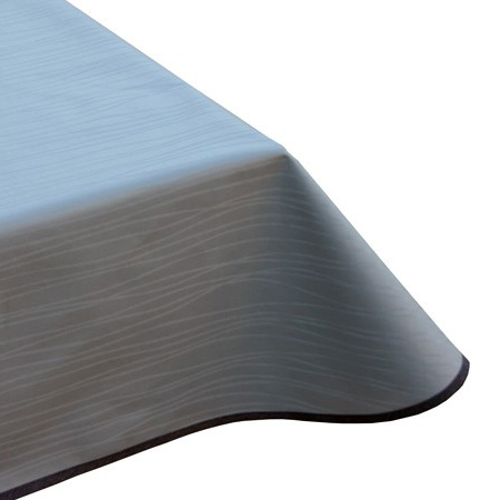 modern taupe vinyl tablecloth