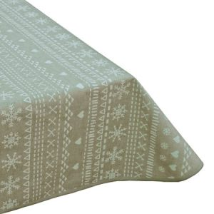 Scandic White Teflon Tablecloth