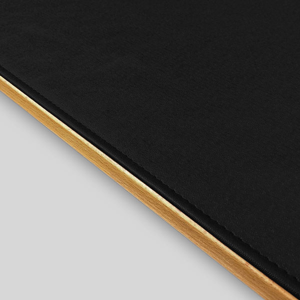 Square Table Felt Black