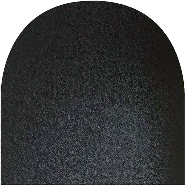 Oval Table Felt Black