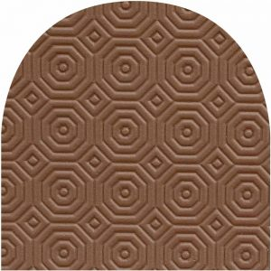 Oval Brown Protector