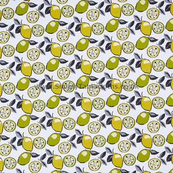 Citrus Mojito Oilcloth Tablecloth