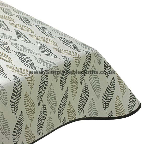 Cool Fern Teflon Coated Tablecloth