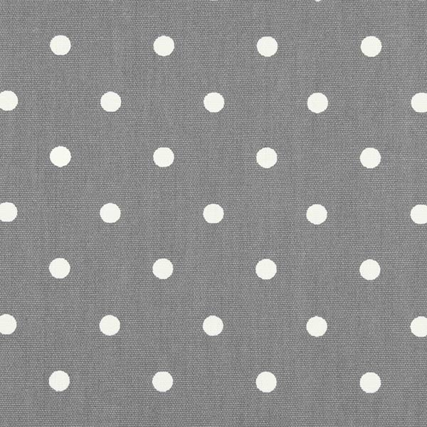 Polka Dot Dark Grey Oilcloth Tablecloth