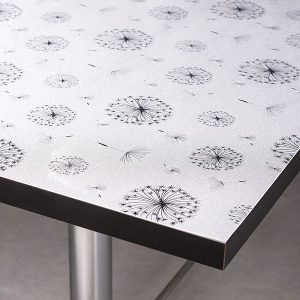 Frosted Dandelion Table Protector - Extra Thick