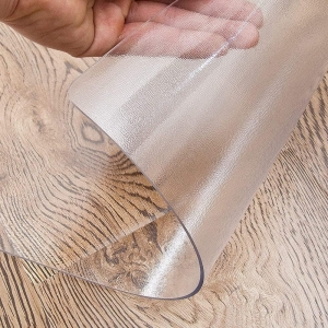 Plain frosted clear table protector